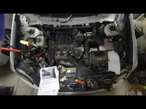2008 Toyota Highlander Hybrid Spark Plug Change Time Lapse