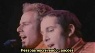 Video de Simon & Garfunkel - Sound Of Silence no festival de Monter...