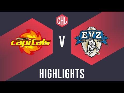 Highlights: Vienna Capitals vs. EV Zug
