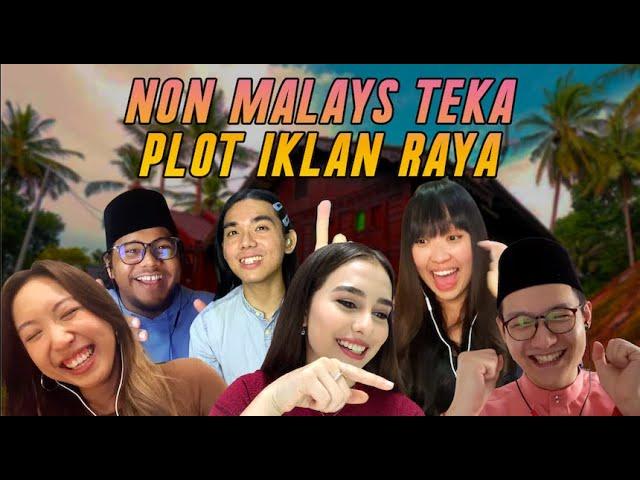 Non Malays & Anna Jobling Teka Plot Iklan Raya [OB Challenge]