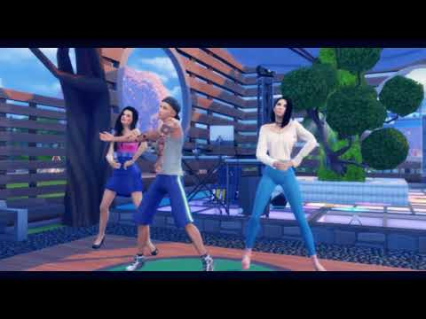 Cold Water Justin Bieber & MØ The Sims 4  | [ANIMATION DOWNLOAD ]