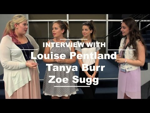 Backstage Interview with Zoella, Tanya Burr & Sprinkle of Glitter!
