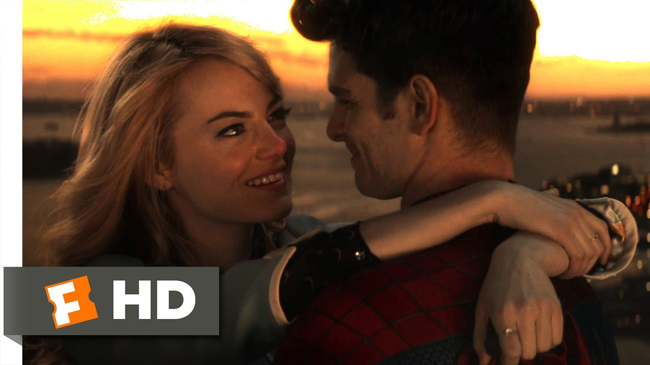 The Amazing Spider Man 2 2014 I Love You Scene 6 10