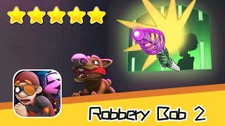 Robbery Bob 2 Shamville 16-17 Walkthrough Scurvy Bob Recommend index five stars
