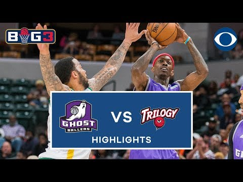 Ghost Ballers take down Trilogy in Miami   Big3 highlights