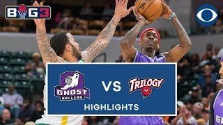 Ghost Ballers take down Trilogy in Miami | Big3 highlights