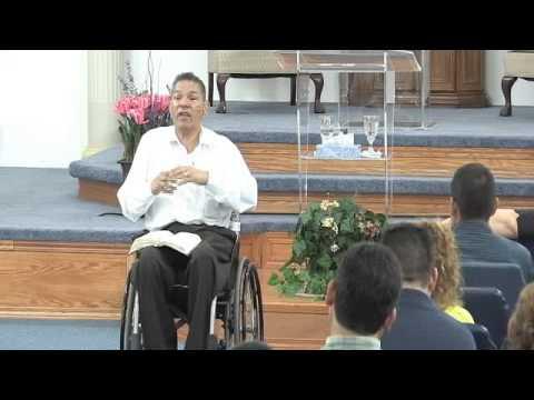 Tony Camacho - Lucha Hasta El Fin (2 Reyes 2:1-15) 5/22/2013