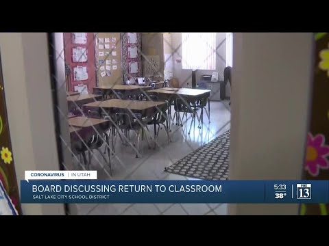 Salt Lake City School Board to discuss secondary school return