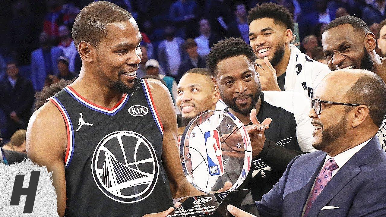 Westbrook Wins MVP | West vs East | February 14, 2016 ...