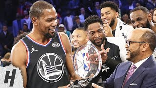 Kevin Durant MVP Trophy Presentation | February 17, 2019 NBA All-Star Game
