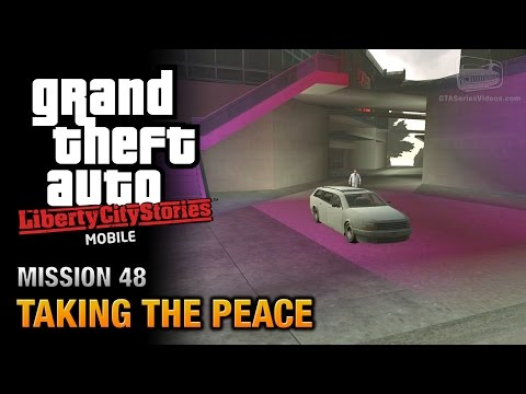 GTA Liberty City Stories Mobile - Mission #48 - Taking the Peace