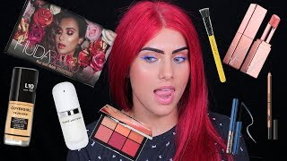 get ready with me using new products bodmonzaid