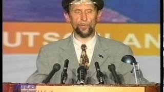 German Speech with Urdu by Ameer sahib Germany at Jalsa Salana Germany 2002