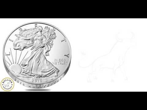 2016-W 1 oz Proof Silver American Eagle - 30th Anniversary