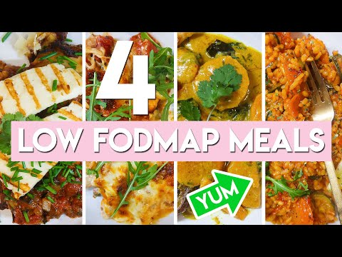 4 30 MINUTE LOW FODMAP RECIPES | What's for dinner? | Becky Excell
