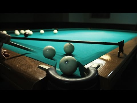 Бильярдные трюки от чемпиона Европы  Вilliard tricks