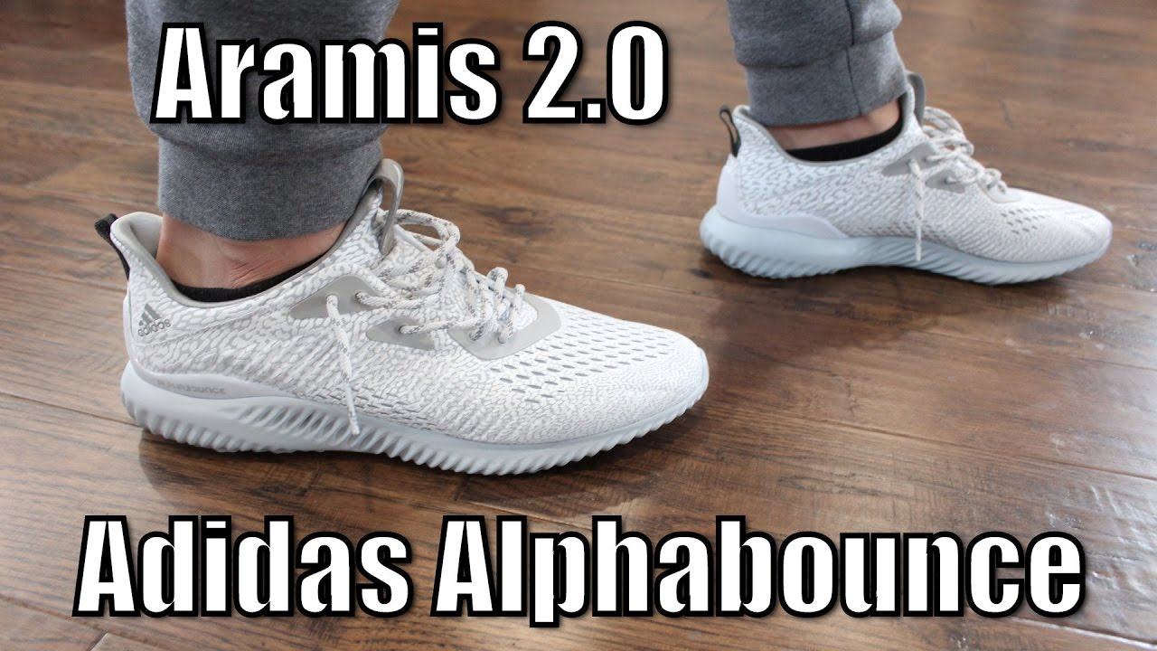 39bd227db Adidas Alphabounce White Aramis AMS 2.0 Review   On Feet