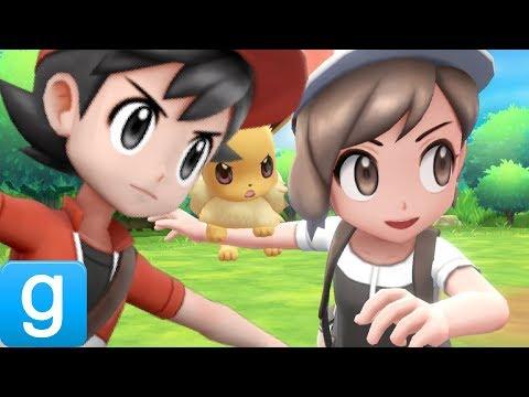 Gmod Pokemon: LET'S GO, PIKACHU! & EEVEE! Mod Review (Garry's Mod) thumbnail