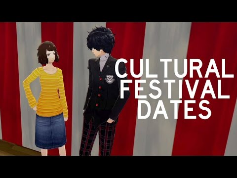 Persona 5 - All Cultural School Festival Dates (ENGLISH)