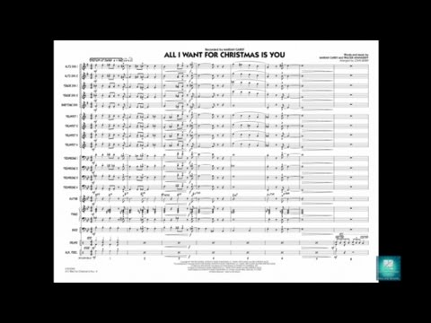 All I Want for Christmas Is You arranged by John Berry