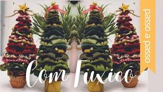 DIY::: Árvore de Natal de Fuxico ( Fácil ) By Fê Atelier
