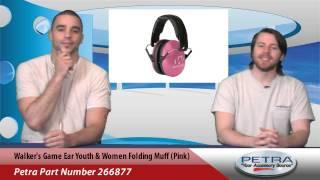 Walkers Game Ear Youth & Women Folding Muff (pink)