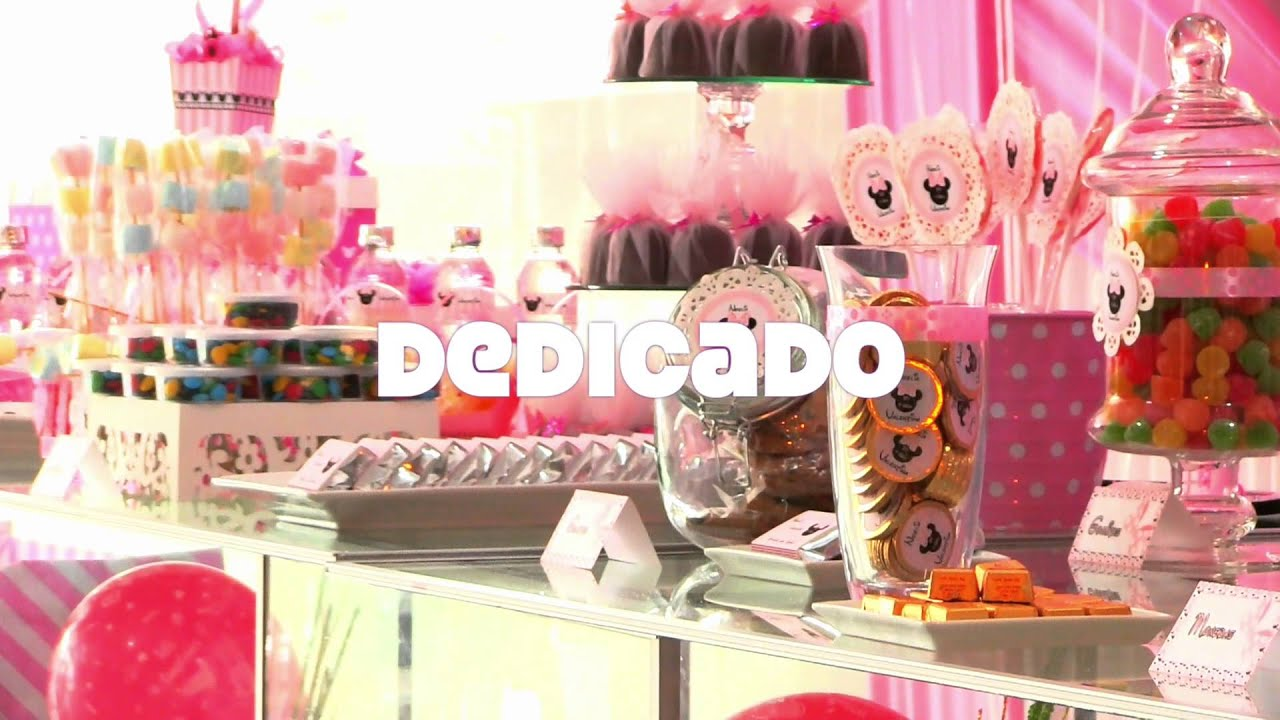 Ideas Para Decorar Una Candy Bar