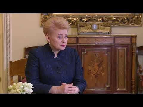 Dalia Grybauskaitė apie susirašinėjimą su Eligijumi Masiuliu   Laba diena, Lietuva