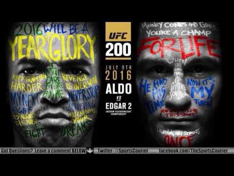UFC 200: Jose Aldo vs. Frankie Edgar, RDA vs. Eddie Alvarez Conference Call