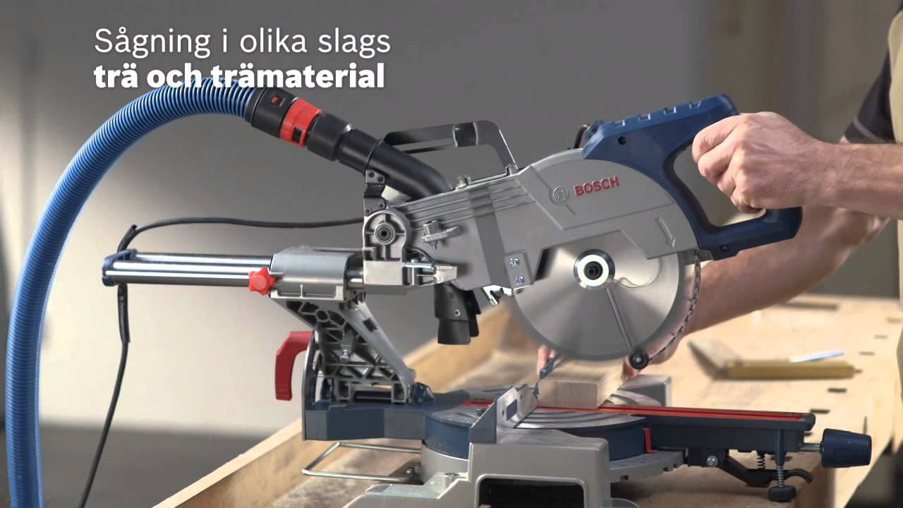 Bosch GCM 800 SJ Professional kapp og gjæresag   Clas Ohlson