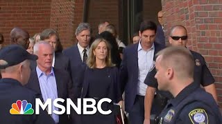 Felicity Huffman Gets 14 Day Sentence In College Admissions Scandal Case | Hardball | MSNBC