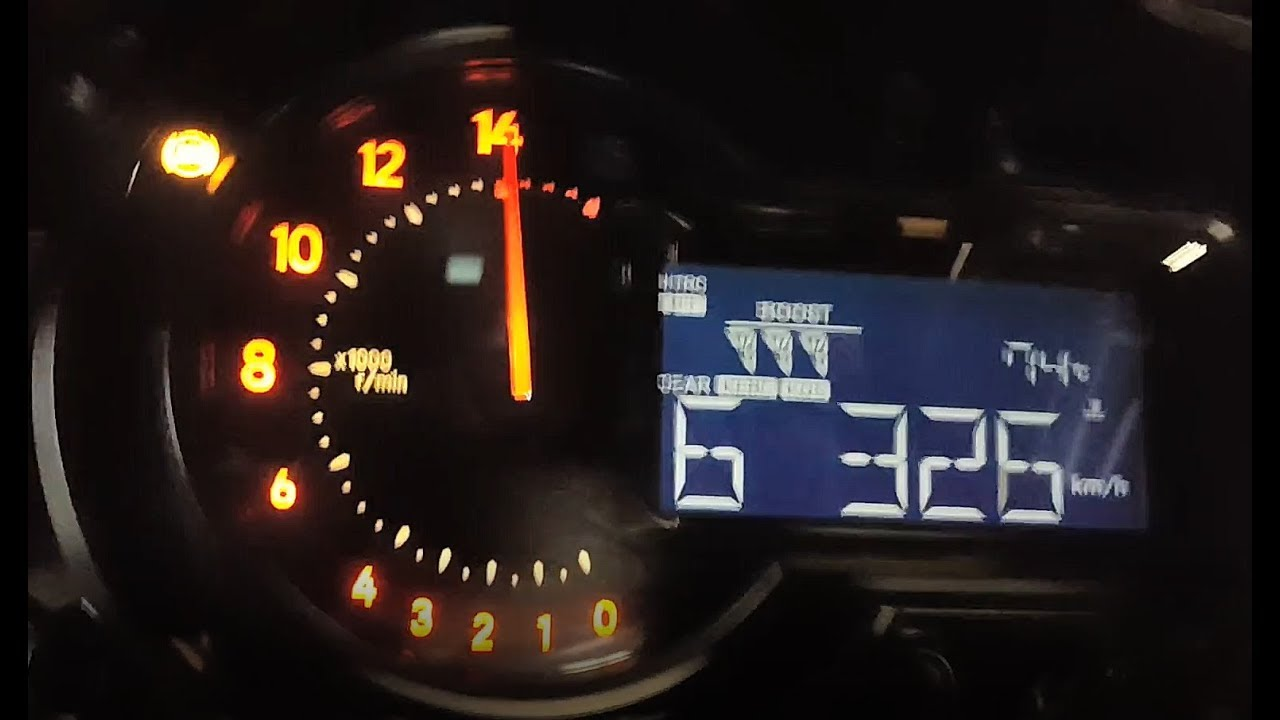 Kawasaki H2 - Disable Dash Top Speed Limit