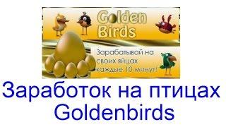 Golden-birds, заработок на яйцах БЕЗ БАЛЛОВ!