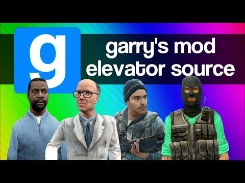 Gmod Elevator Source Funny Moments - Random, Weird, Creepy Adventure Mod (Garry's Mod Fun)