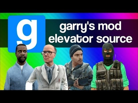 Gmod Elevator Source Funny Moments - Random, Weird, Creepy Adventure Mod (Garrys Mod Fun)