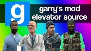 Gmod Elevator Source Funny Moments - Random, Weird, Creepy Adventure Mod (Garry