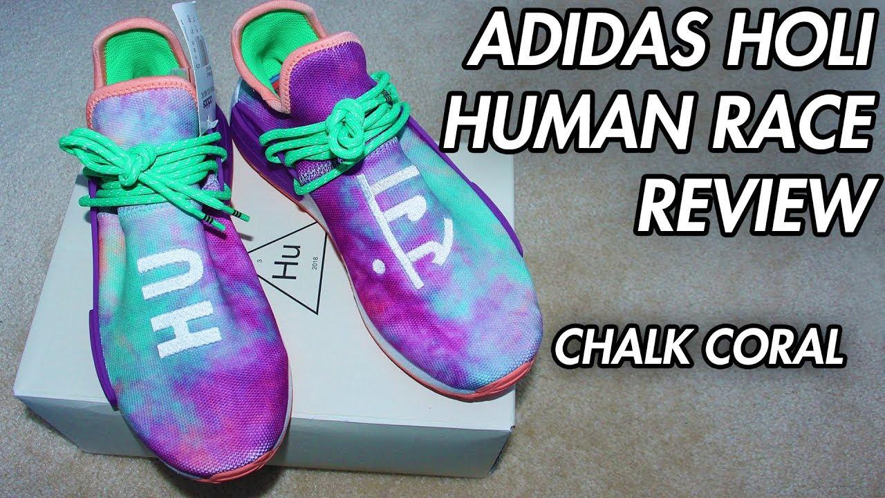 pretty nice 5e24b eccb3 Adidas Holi Human Race NMD - Chalk Coral Review! [ROVIEW]