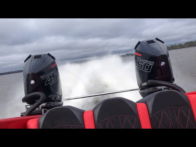 Fountain Powerboats 34 Thunder Cat With Twin Mercury Racing 450R Engines