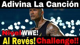 Adivina La Canción Al Revés! Challenge | Versión WWE!