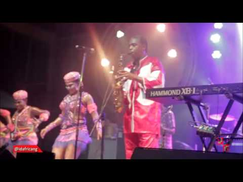 Femi Kuti and the Positive Force Band's Live Performance At Felabration 2015 with 7UP