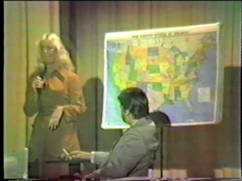 YCHS Senior Follies 1981 - Heather with the Weather