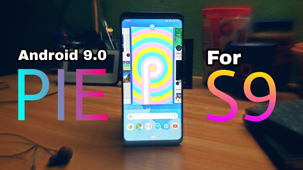 samsung s9 plus update android pie