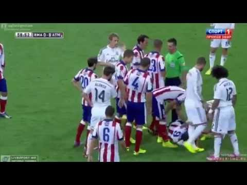 Real Madrid vs Atletico Madrid 1-1 All Goals & Highlights ( Spanish Super Cup 2014) HD