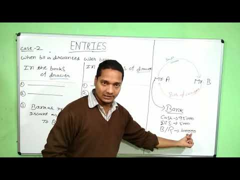 Accounting for bills of exchange part -2, class 11