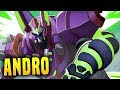 My Best Game In Ages! | Paladins Reversal Androxus