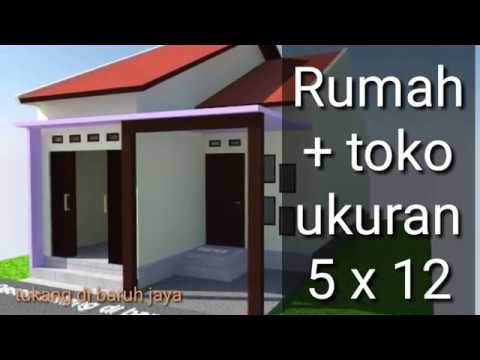 Rumah toko sederhana - YouTube