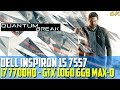 Dell Inspiron 15 7577 (i7 7700HQ / GTX 1060) Quantum Break STEAM - Gameplay Walkthrough