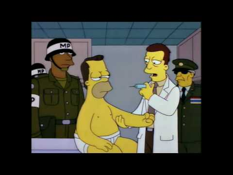Homer's Army Experiment