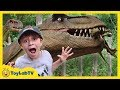 GIANT LIFE SIZE DINOSAURS T REX Jurassic Adventure Dinosaur Theme Park Family Fun Kids Activities