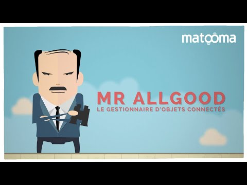 Les objets connectés par cartes SIM - Mr Allgood - by Matooma